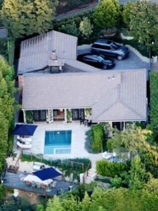 A casa de Jennifer Aniston e Justin Theroux