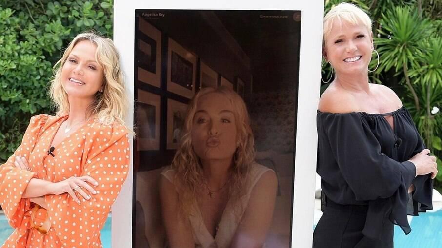 Eliana, Angélica e Xuxa estarão juntas no programa da apresentadora do SBT neste domingo, 07