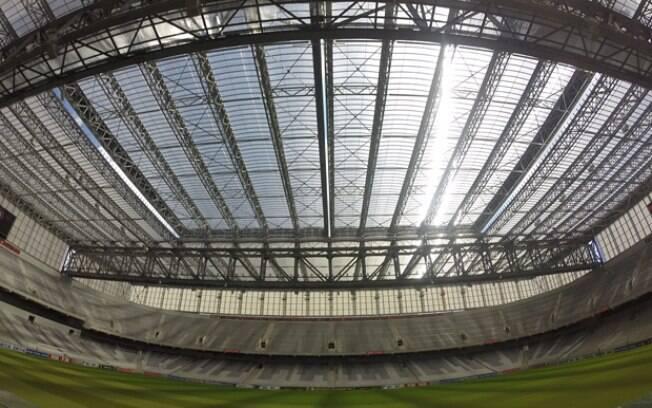 Arena da Baixada, em Curitiba, agora conta com teto retrátil