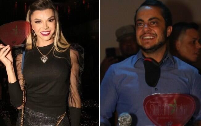 Léo Áquilla e Thammy Miranda