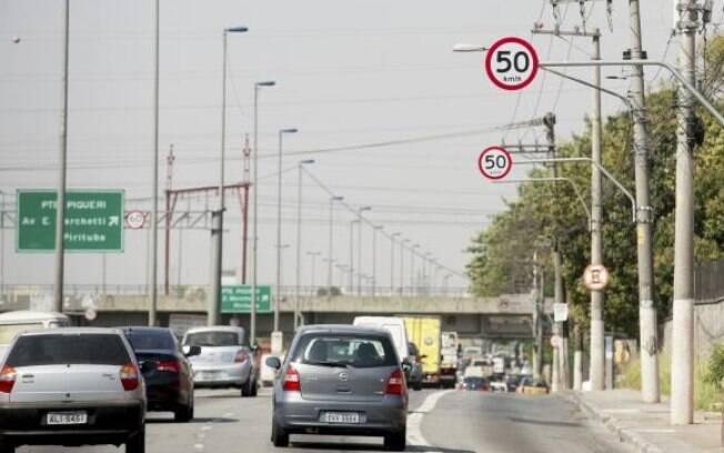 Velocidades nas marginais Tietê e Pinheiros passarão para 90 km nas expressas, 70 km nas centrais e 60 km nas locais