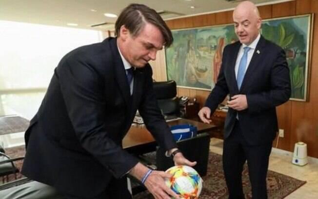 Presidente Bolsonaro falou sobre a MP