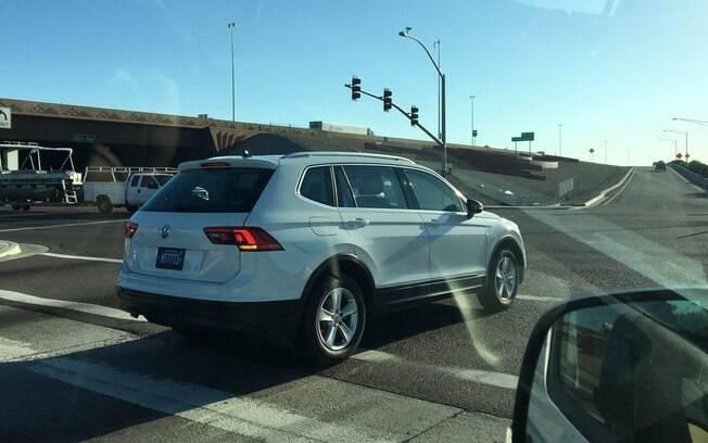 Volkswagen Tiguan de sete lugares é flagrado nos Estados Unidos. Carro será feito no México