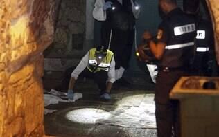 Palestino mata casal israelense a facadas e fere criança em Jerusalém - Mundo - iG