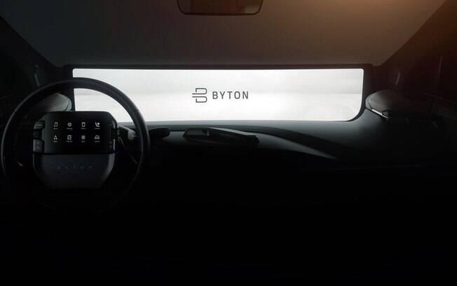 Byton M-Byte também é atração do CES 2019, na parte de tecnologia e interatividade