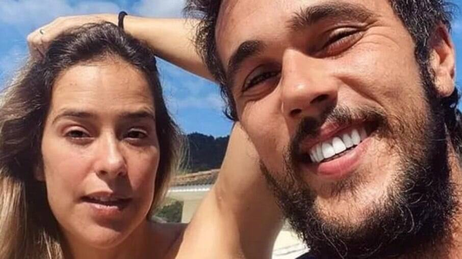 Paloma Duarte compartilha ensaio sensual com Bruno Ferrari