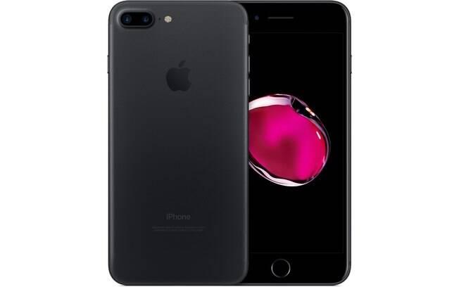 Com visual moderno, o iPhone 7 Plus se destaca no mercado de smartphones de alto desempenho.