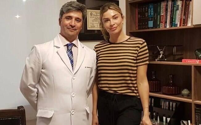Fernando Macedo e Grazi Massafera