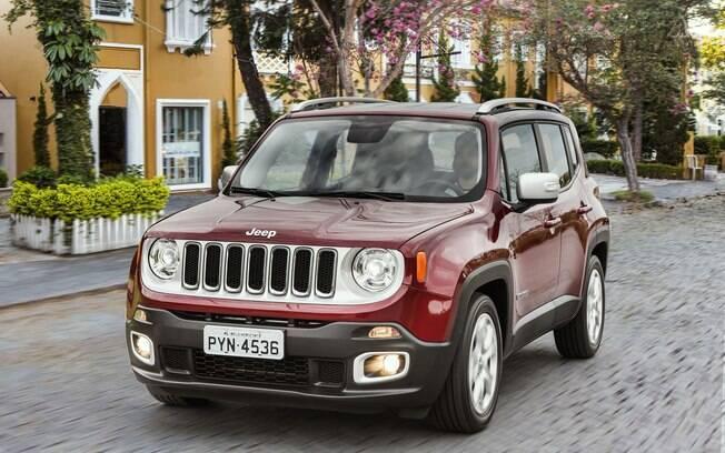 Próximo da metade de sua vida, o Jeep Renegade deve receber alguns retoques no desenho em 2019