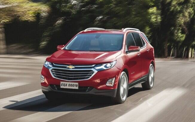 Chevrolet Equinox vem equipado com o motor do Camaro de entrada, vendido apenas nos EUA