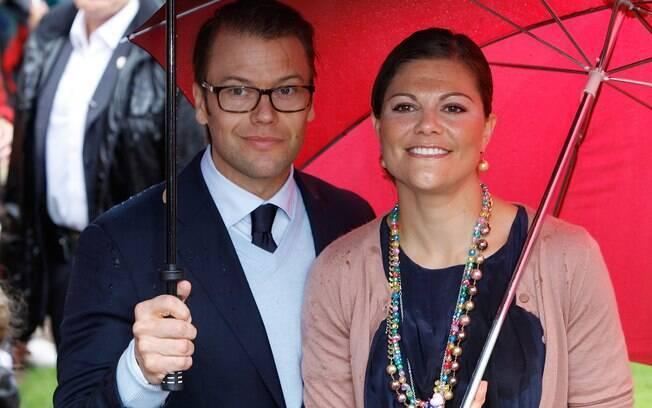 Princesa Victoria da Suécia e seu marido, Daniel Wrestling
