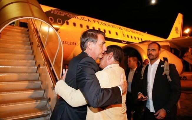 Bolsonaro viajou a Davos para o Fórum Econômico Mundial