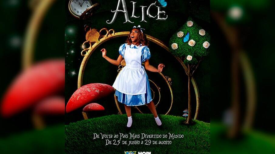Alice será tema de espetáculo no Hopi Hari
