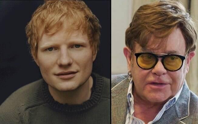 Ed Sheeran e Elton John devem lançar dueto natalino em dezembro