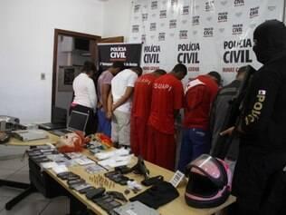 Ao todo, oito pessoas foram presas pela Polícia Civil de Betim