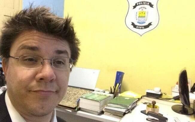 Após agressão, Oscar Filho fez BO na delegacia de Esperantina, no Piauí