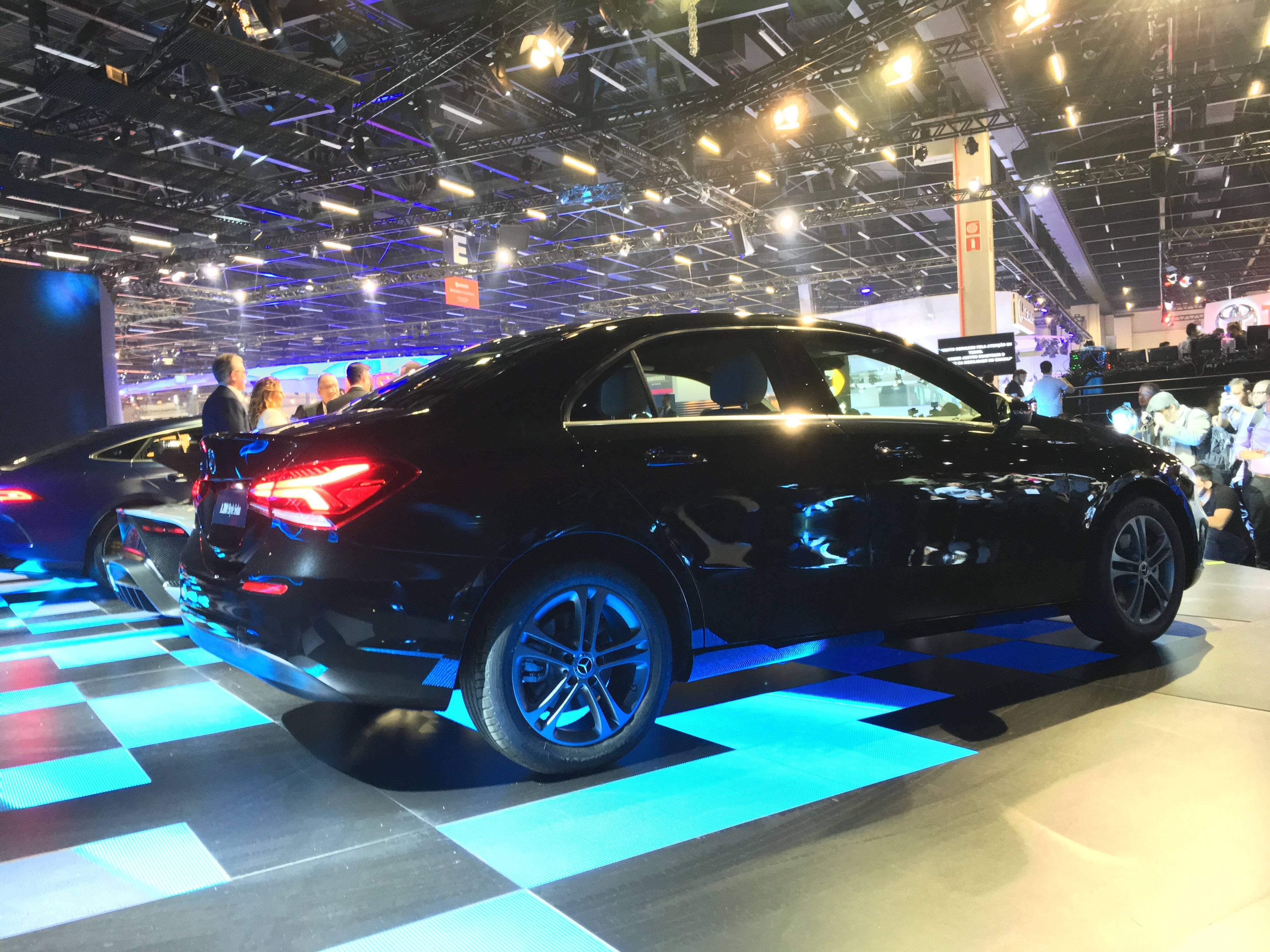 Mercedes no Salão do Automóvel 2018. Foto: Guilherme Menezes/iG