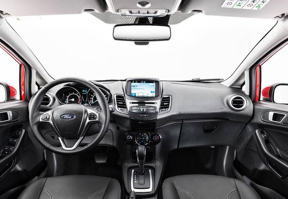 Ford Fiesta 1.6. Foto: Divulgação