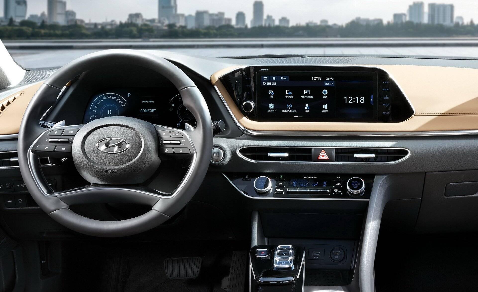 Hyundai Sonata. Foto: Divulgação