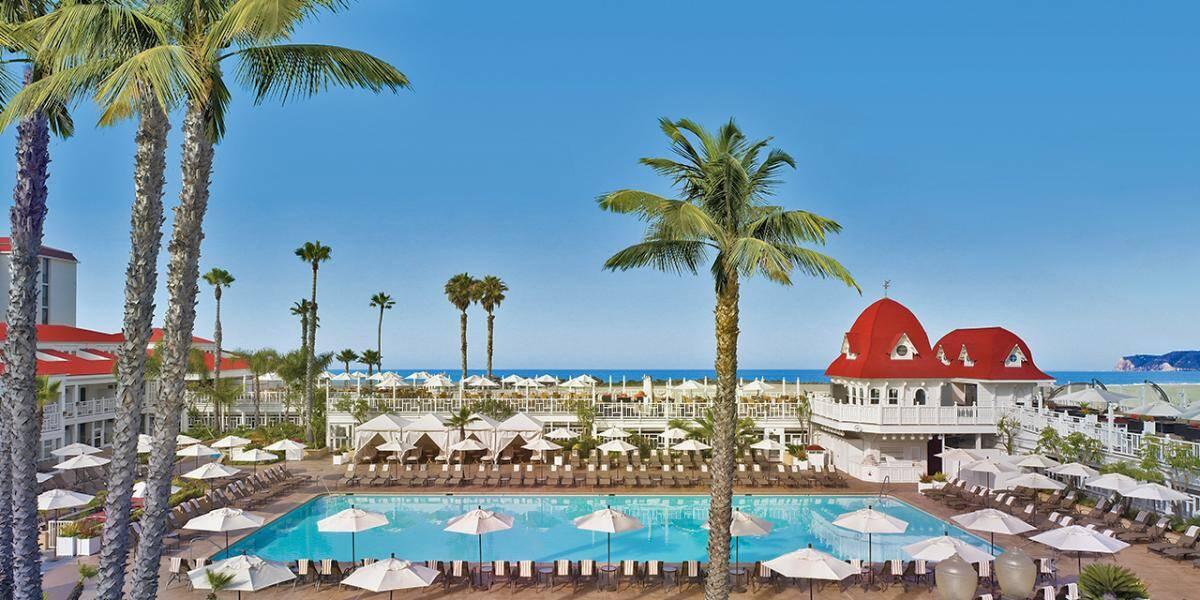 Hotel del Coronado, em San Diego. Foto: Visit California