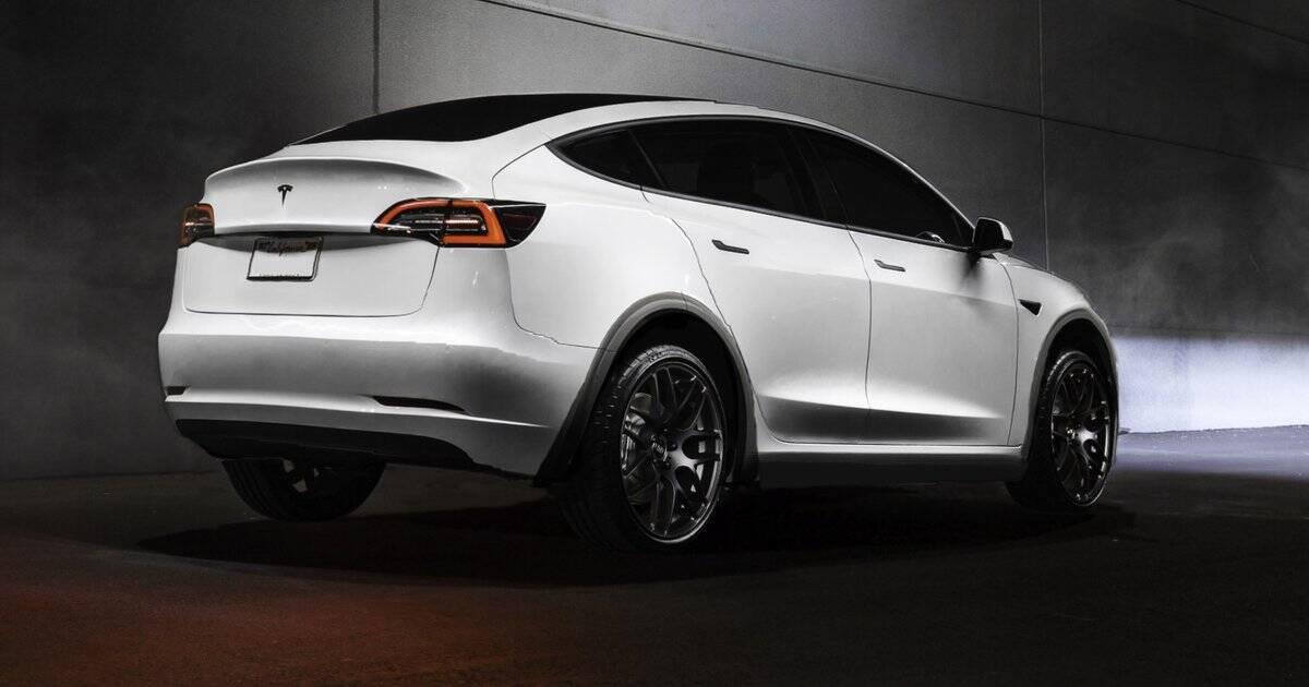 Tesla Model Y. Foto: Divulgação