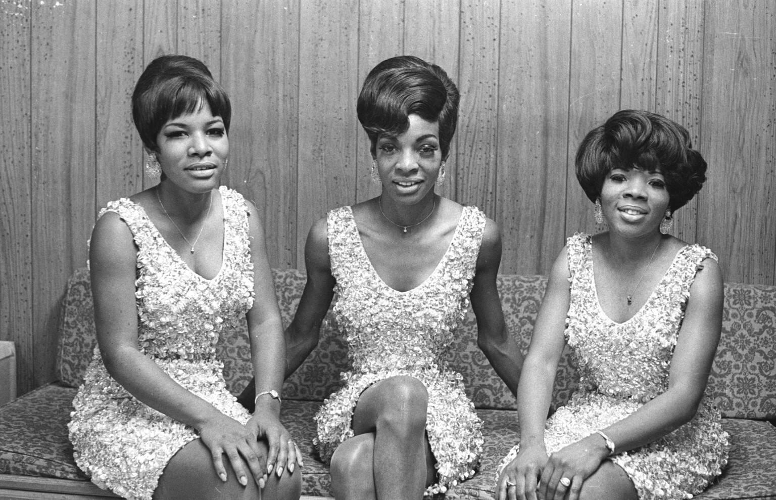 Martha And The Vandellas também foi criada pela Motown, mas o grupo não foi tão bem sucedido. Foto: Reprodução