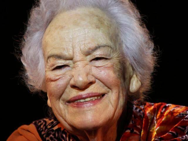 Atriz Germana Tânger morreu aos 98 anos, no dia 22 de janeiro, em Portugal. Foto: Divulgação