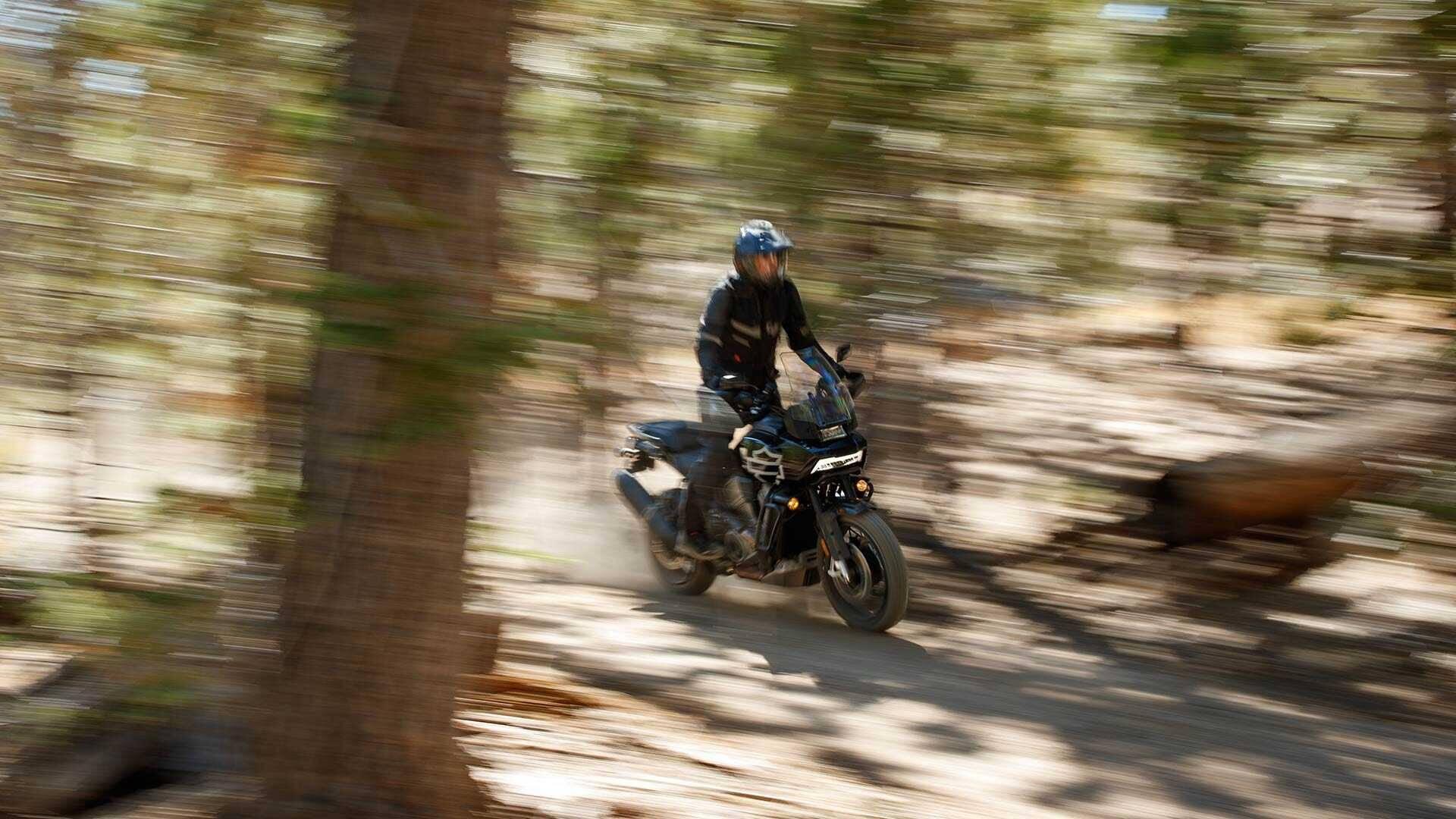 Harley-Davidson Pan America. Foto: Divulgação