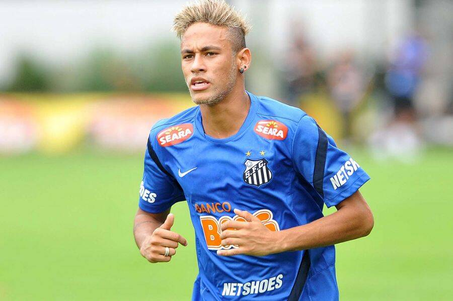 Cabelos do Neymar. Foto: Reprodução