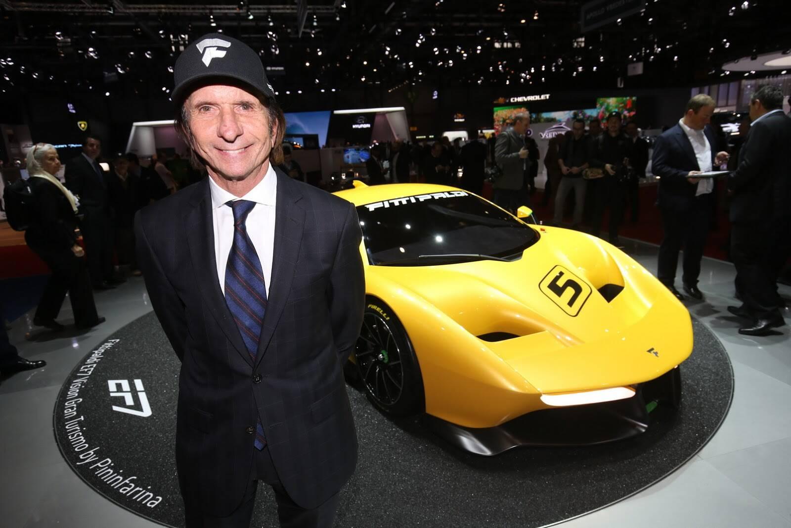 Fittipaldi EF7 Vision Gran Turismo. Foto: Divulgação/Newspress