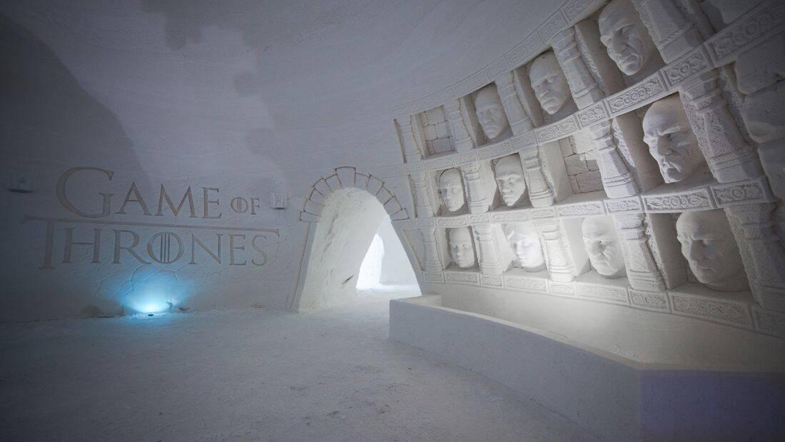 Lapland Hotels SnowVillage é o hotel inspirado em Game of Thrones. Foto: Divulgação/Lapland Hotels