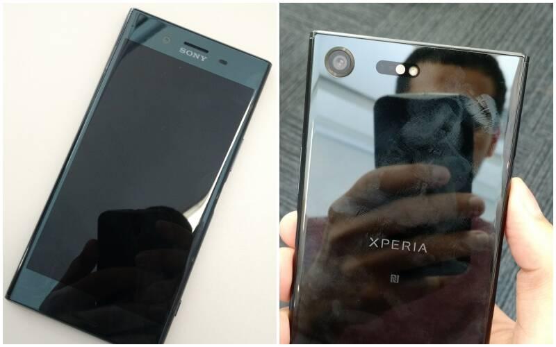 Xperia XZ Premium tem tela de 5,5 polegadas. Foto: Victor Hugo Silva/Brasil Econômico
