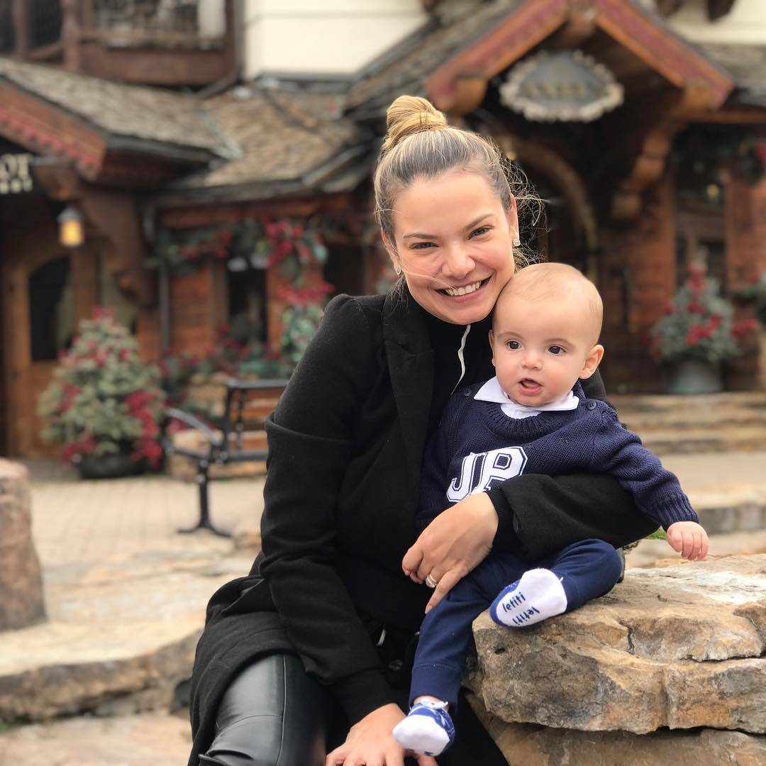 João Pedro, o primeiro filho de Milena Toscano, nasceu dia 17 de setembro, fazendo com que o Dia das Mães de 2019 seja o primeiro da atriz. Foto: Reprodução/Instagram