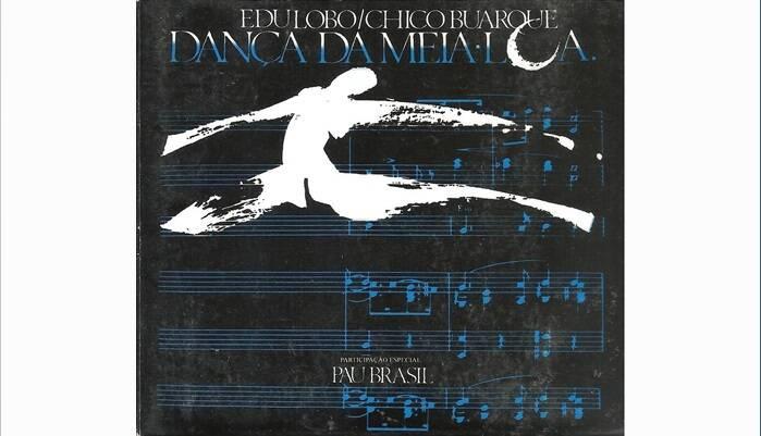"""Capa de """"Dança da Meia-Lua"""", disco com Edu Lobo, lançado em 1988.. Foto: Reprodução/ Divulgação"""