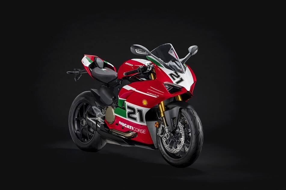 Ducati Panigale V2 Bayliss . Foto: Divulgação