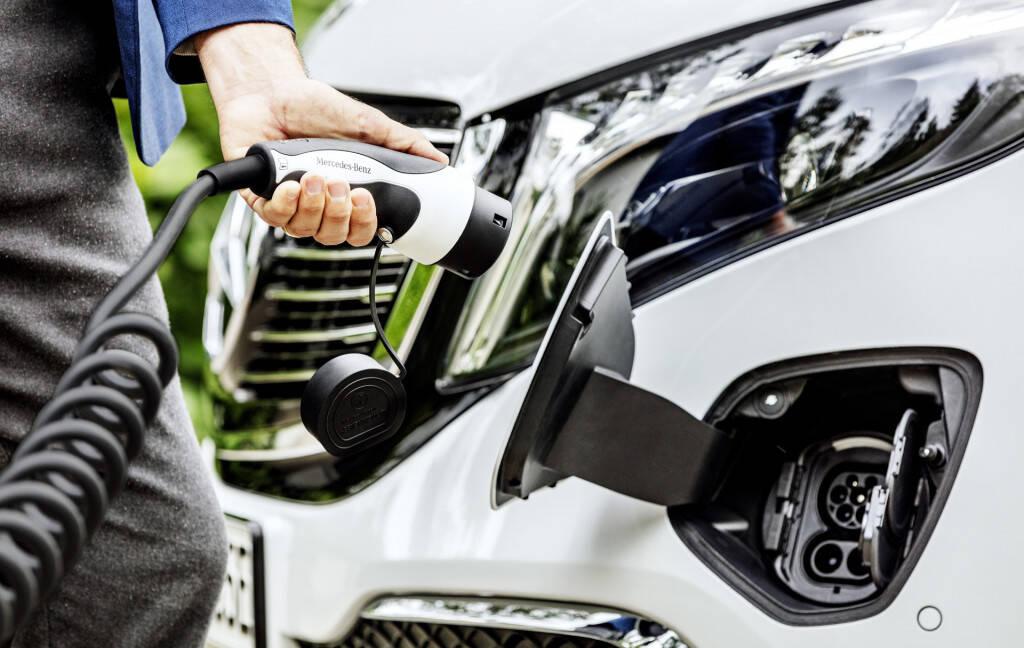 Mercedes-Benz EQV. Foto: Divulgação