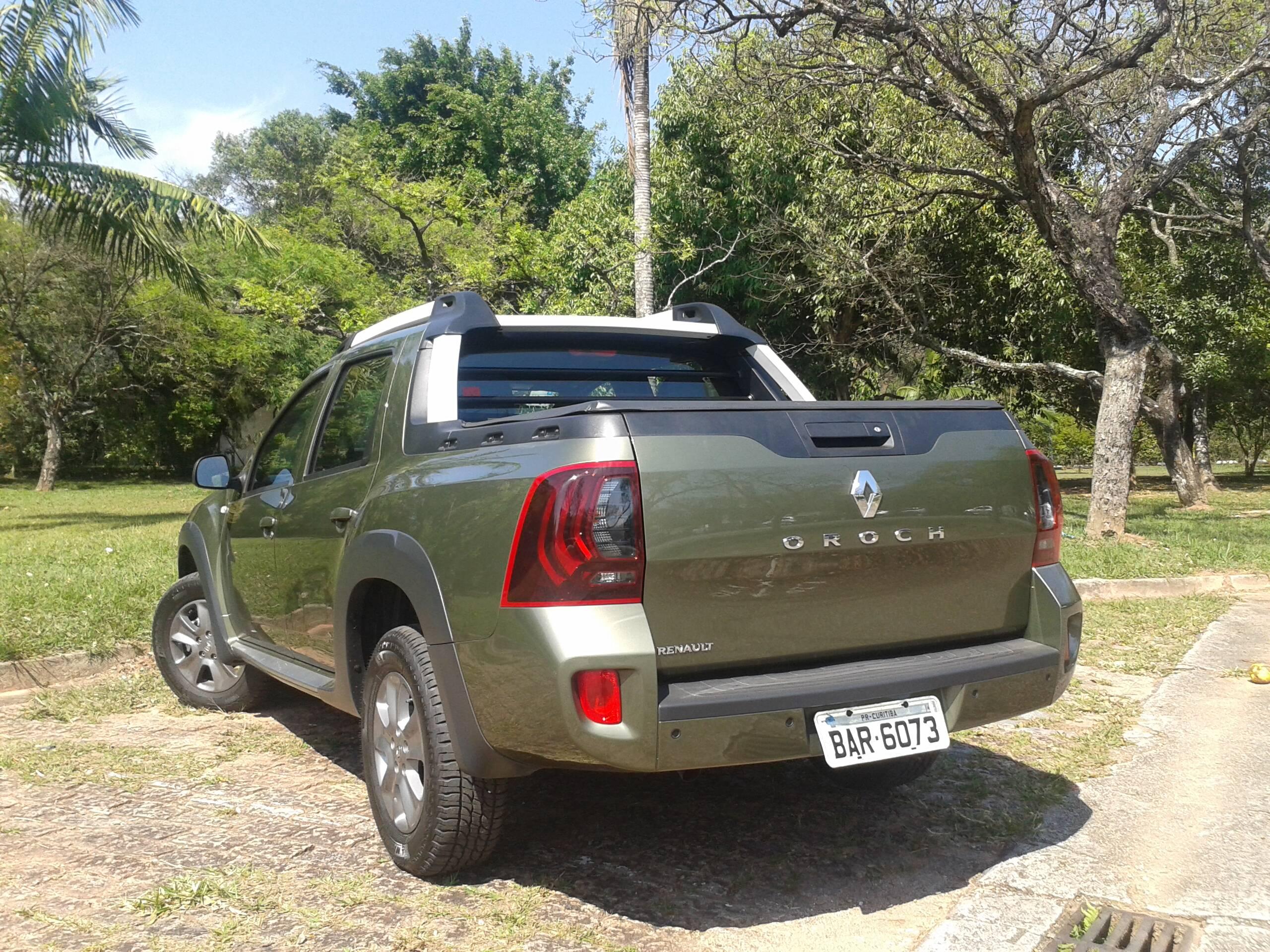 Renault Duster Oroch Automática. Foto: Divulgação
