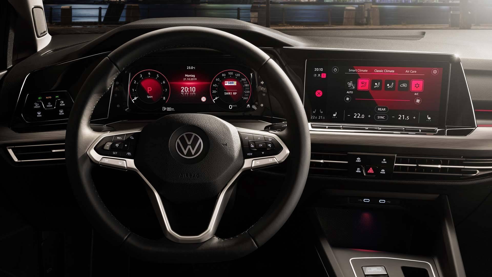VW Golf. Foto: Divulgação
