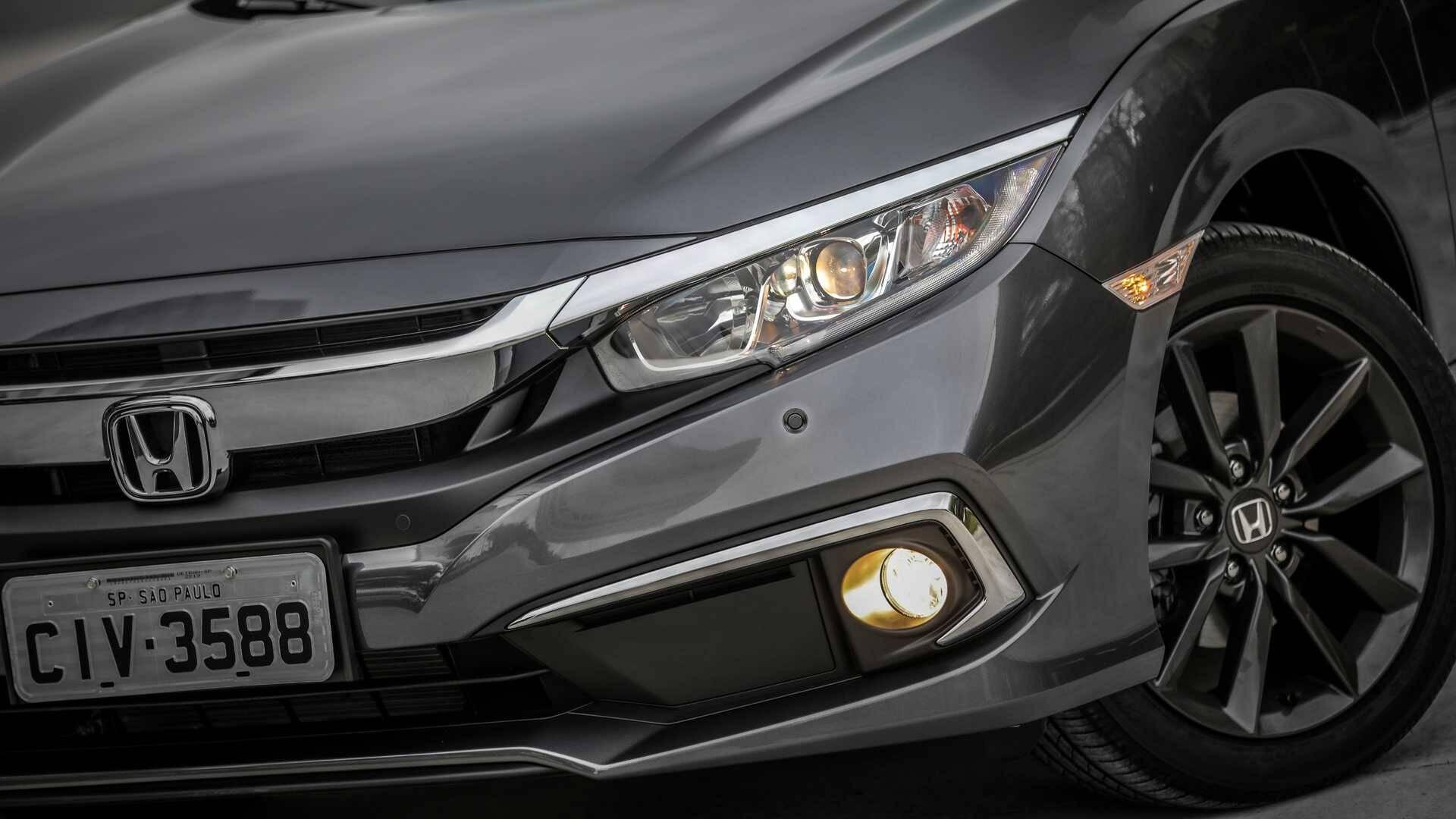 Honda Civic 2020. Foto: Divulgação