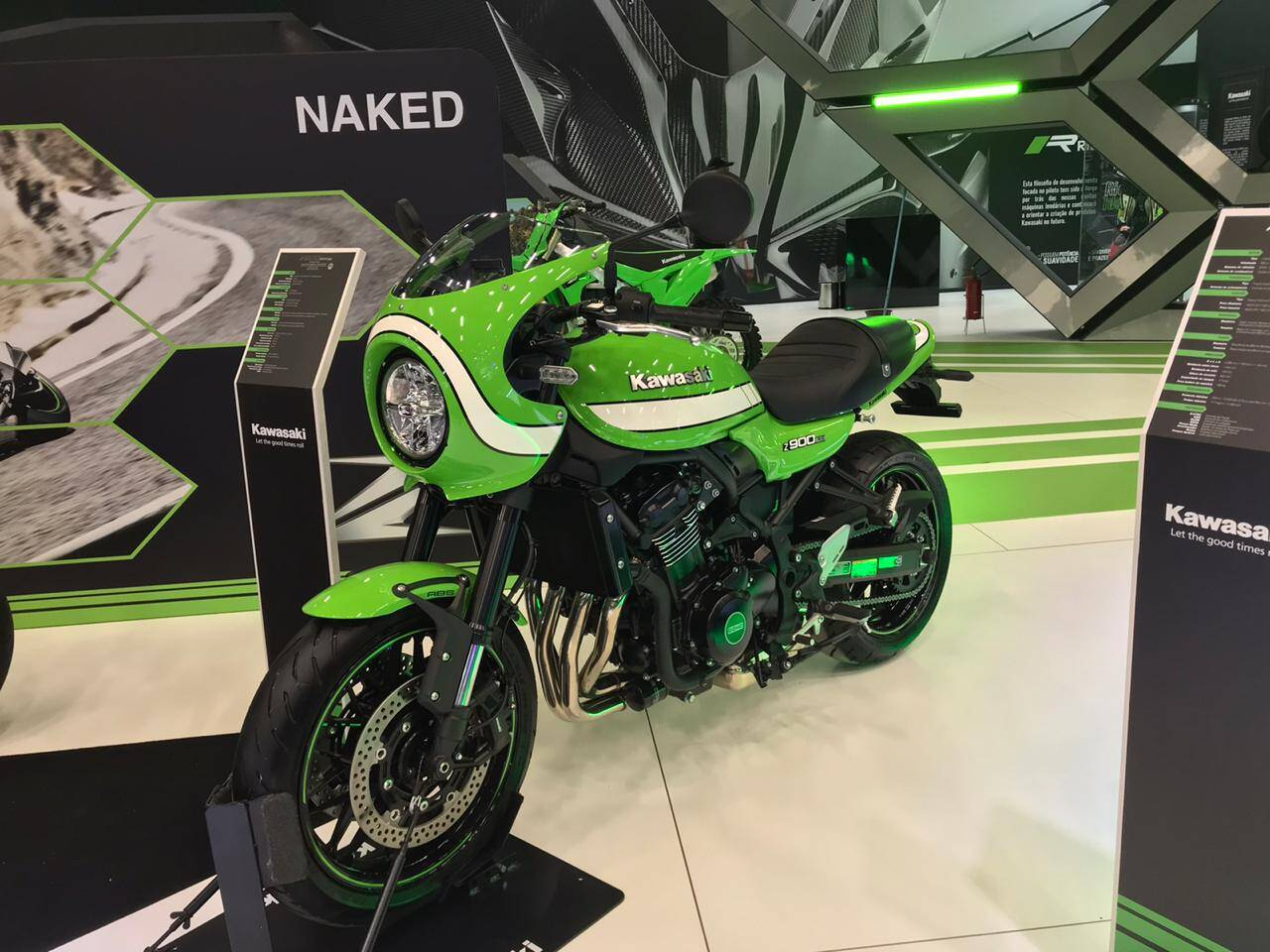 Kawasaki Z900. Foto: Guilherme Menezes/iG
