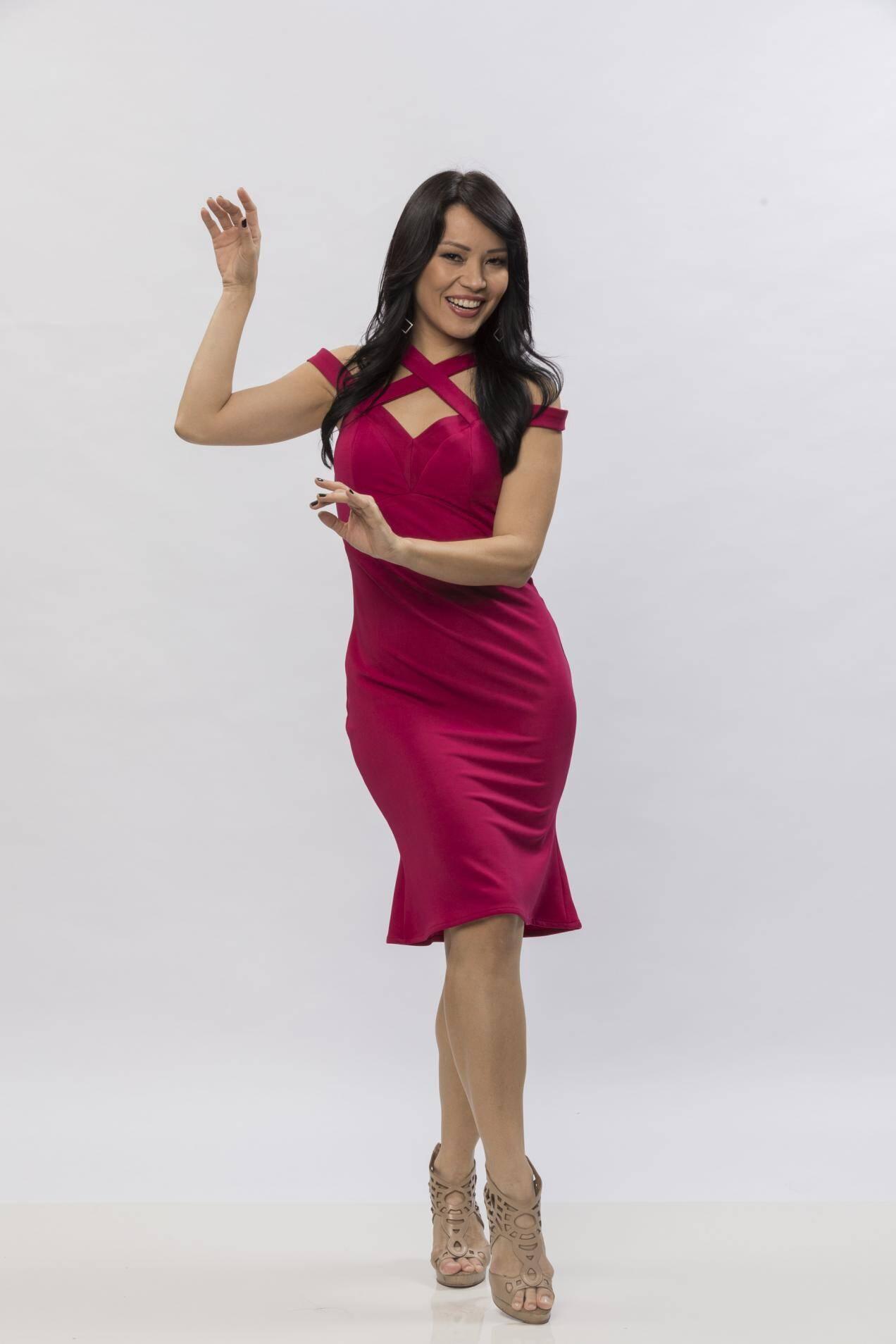 Geovanna Tominaga, apresentadora e atriz, 37 anos. Foto: Divulgação