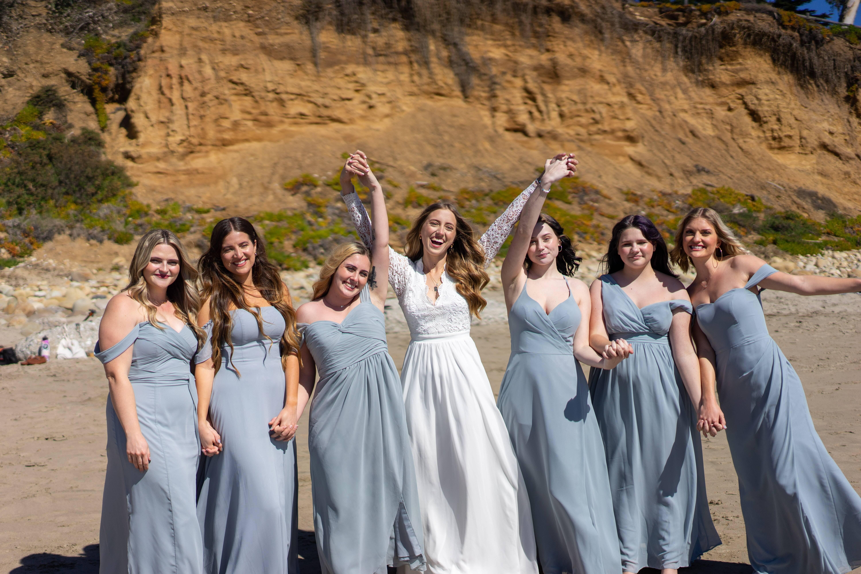 Casamento na praia. Foto: Reprodução/Unsplash