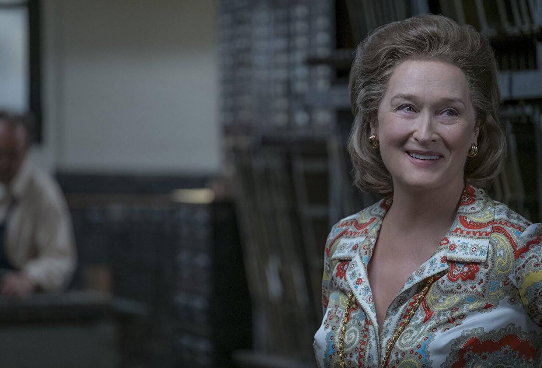 """Meryl Streep conquistou sua 21ª indicação, ampliando o próprio recorde, por sua atuação em """"The Post"""". Ela também foi indicada em 2017. Ela tem três Oscars. Foto: Divulgação"""