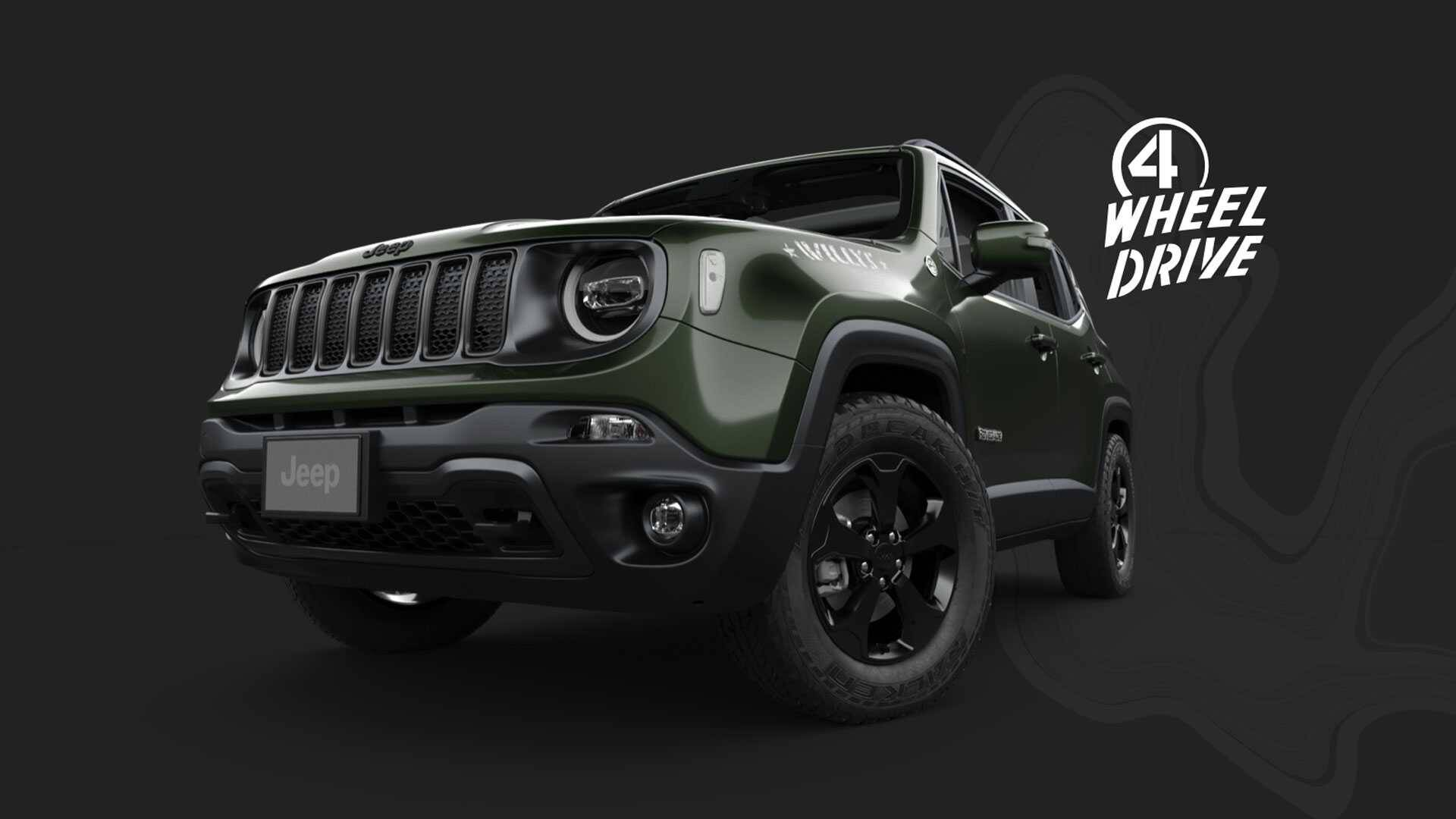 Jeep Renegade Willys. Foto: Divulgação
