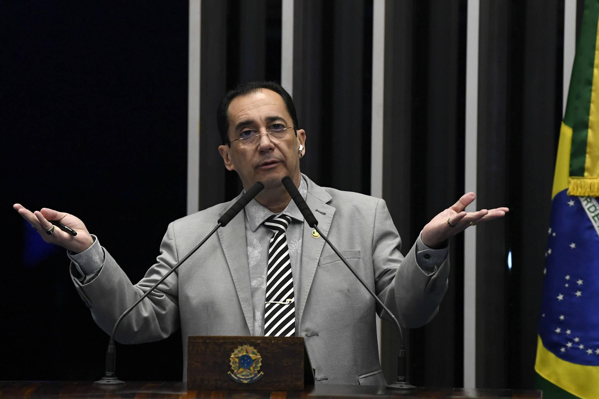 Senador Jorge Kajuru (Patriota-GO). Foto: Jefferson Rudy/Agência Senado - 15.8.19