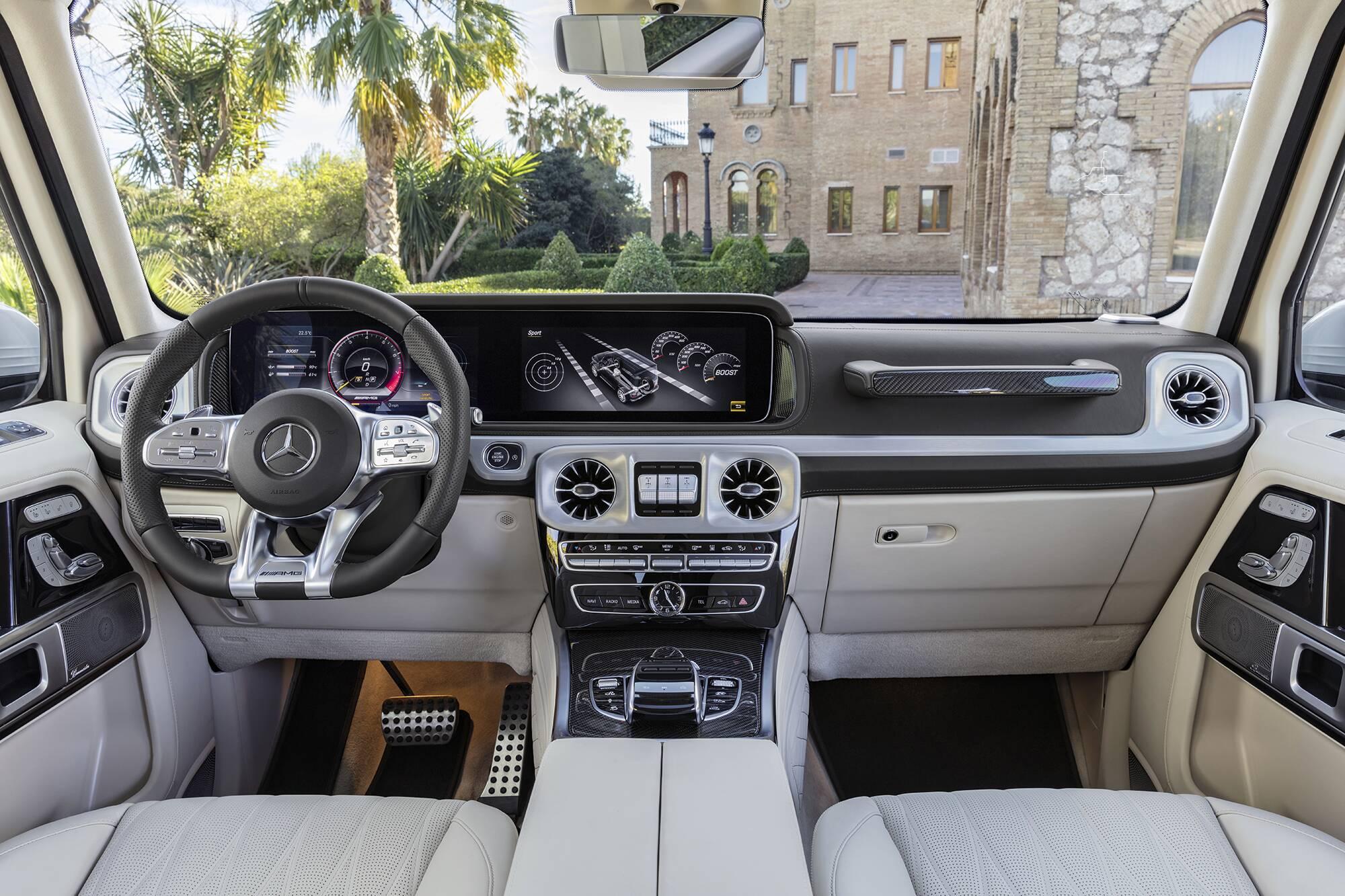 Mercedes - Benz Classe G63 AMG. Foto: Divulgação