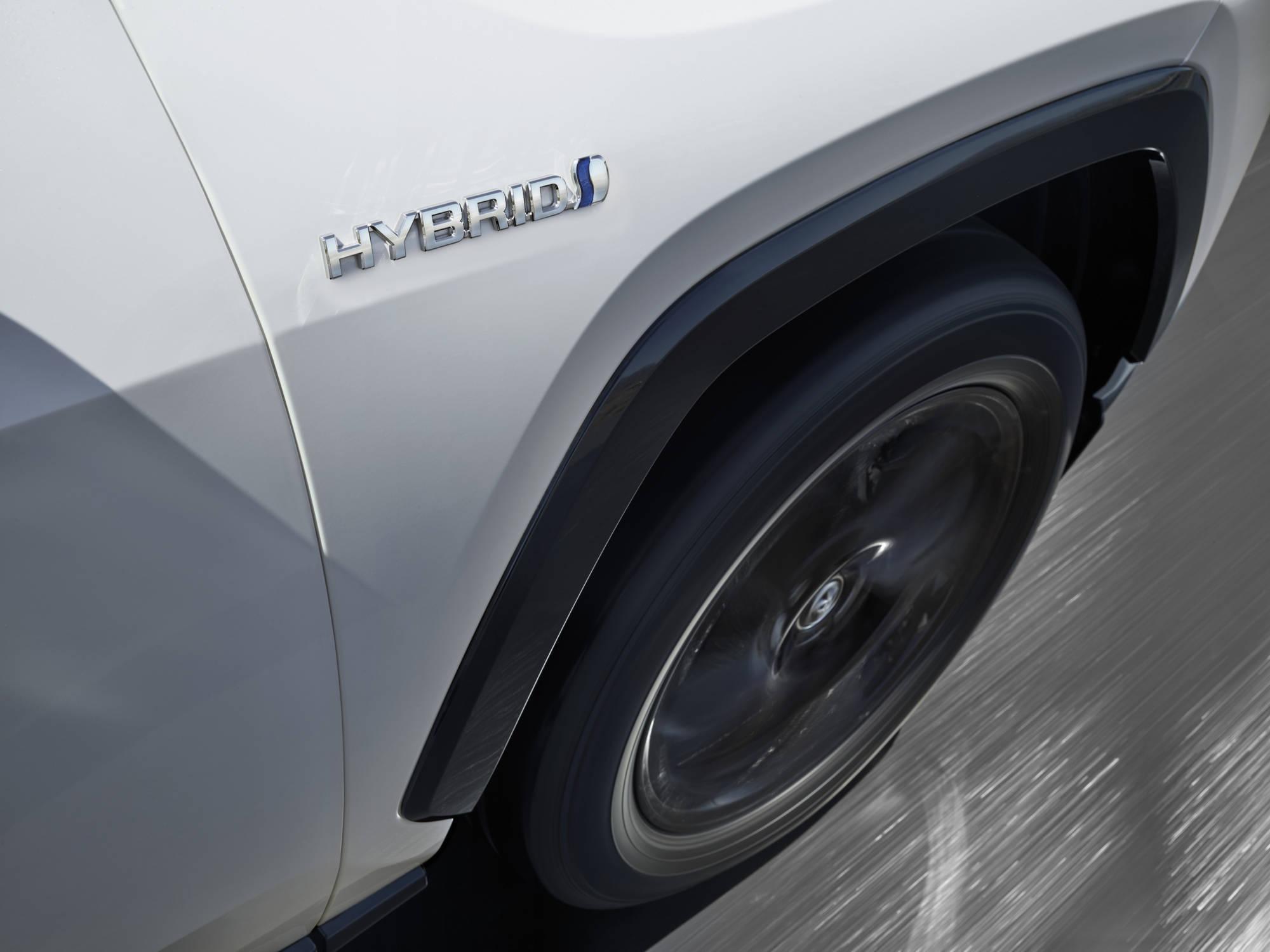 Toyota RAV4 Hybrid. Foto: Divulgação