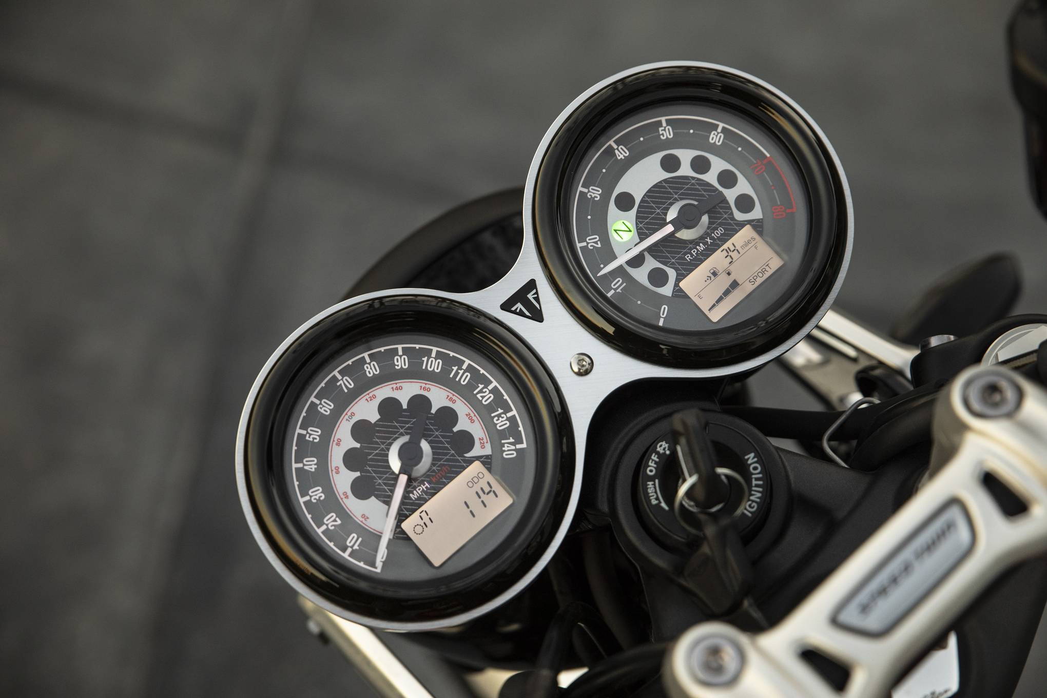 Triumph Speed Twin. Foto: Divulgação