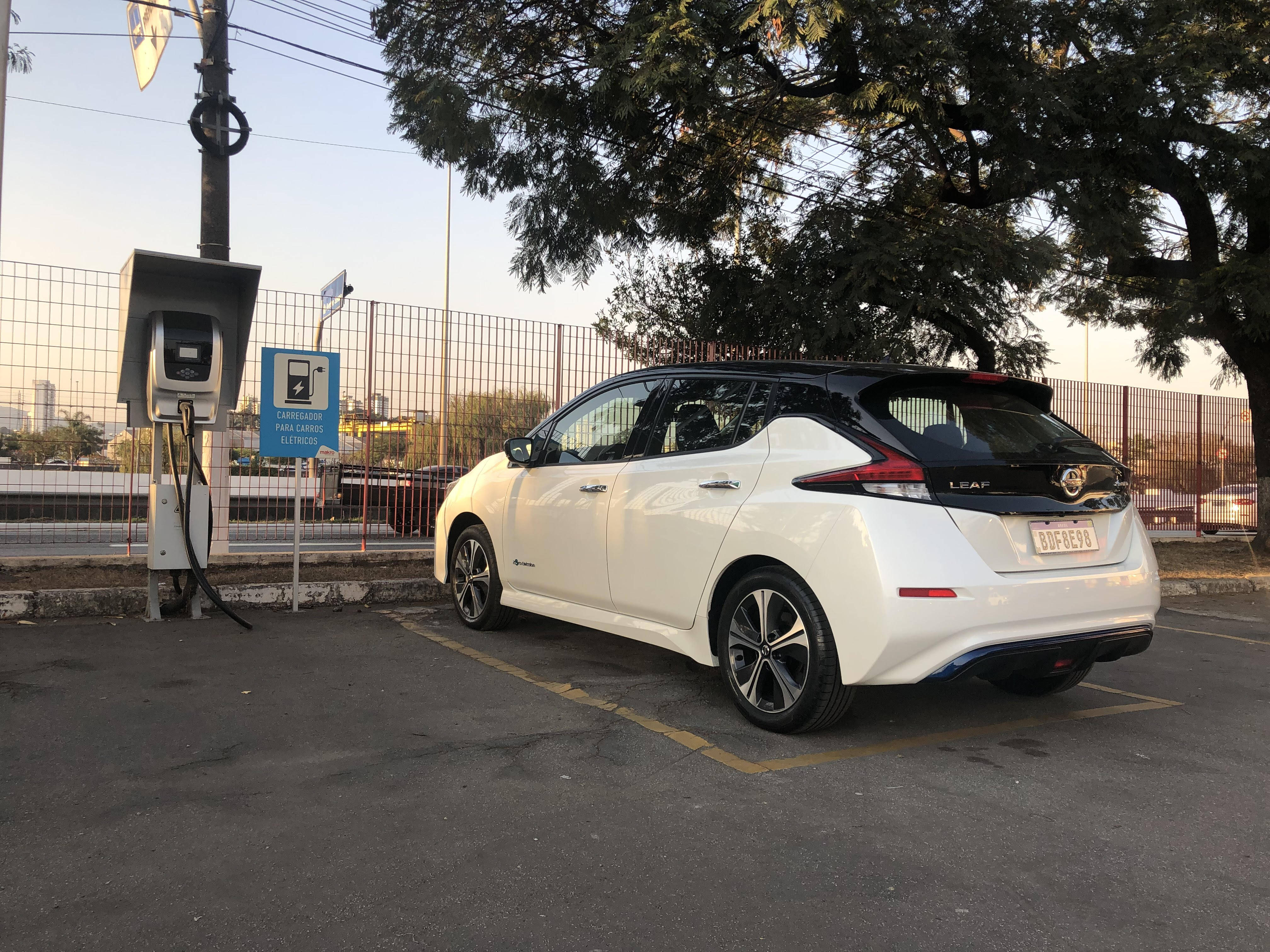 Nissan Leaf . Foto: Caue Lira/iG