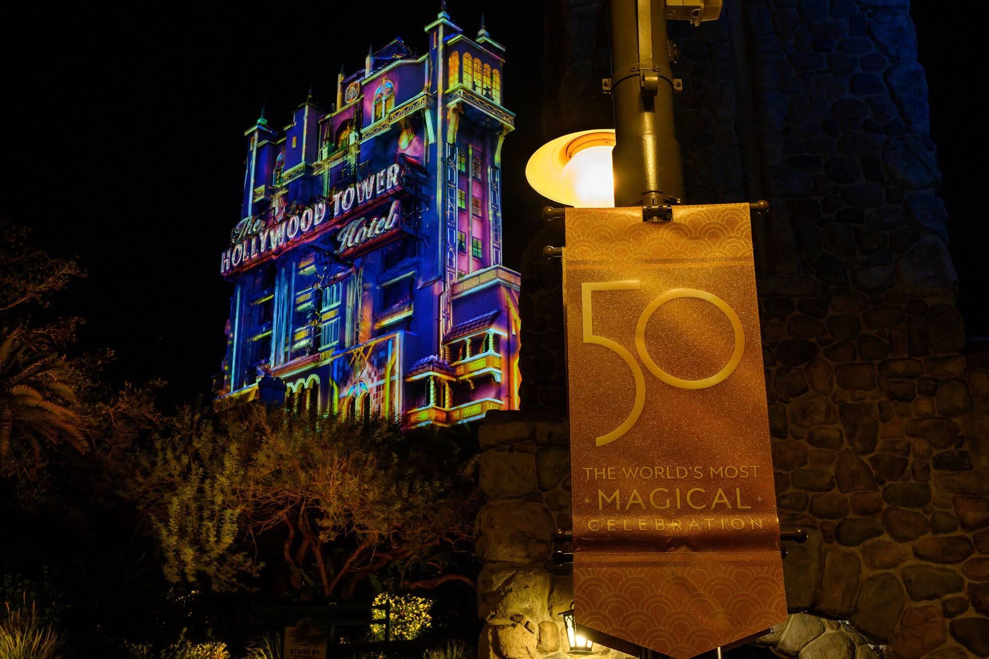 """""""Beacon of Light"""" no Disney Hollywood Stuios. Foto: Todd Anderson"""